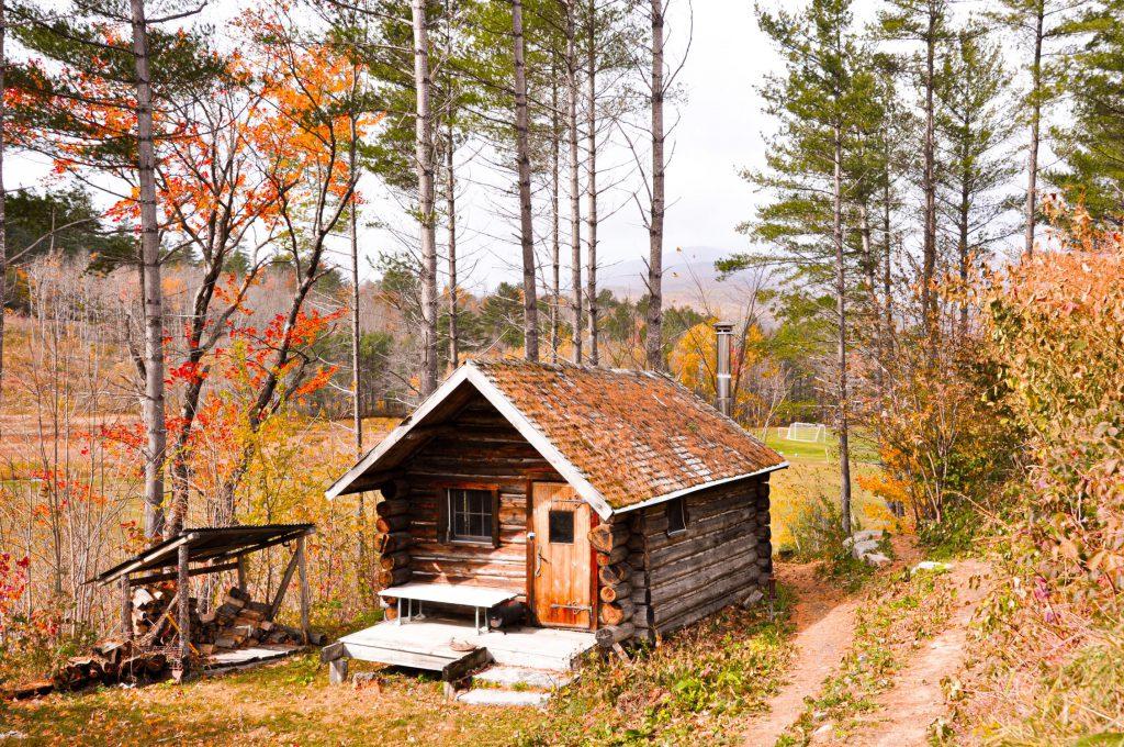 Малка къща в гората