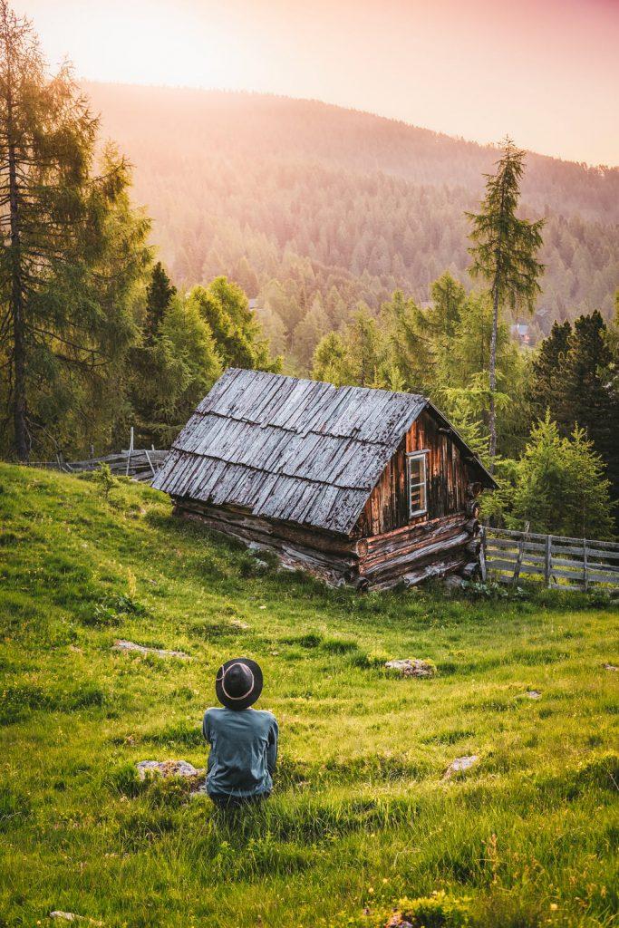 Къща в гората с гледка