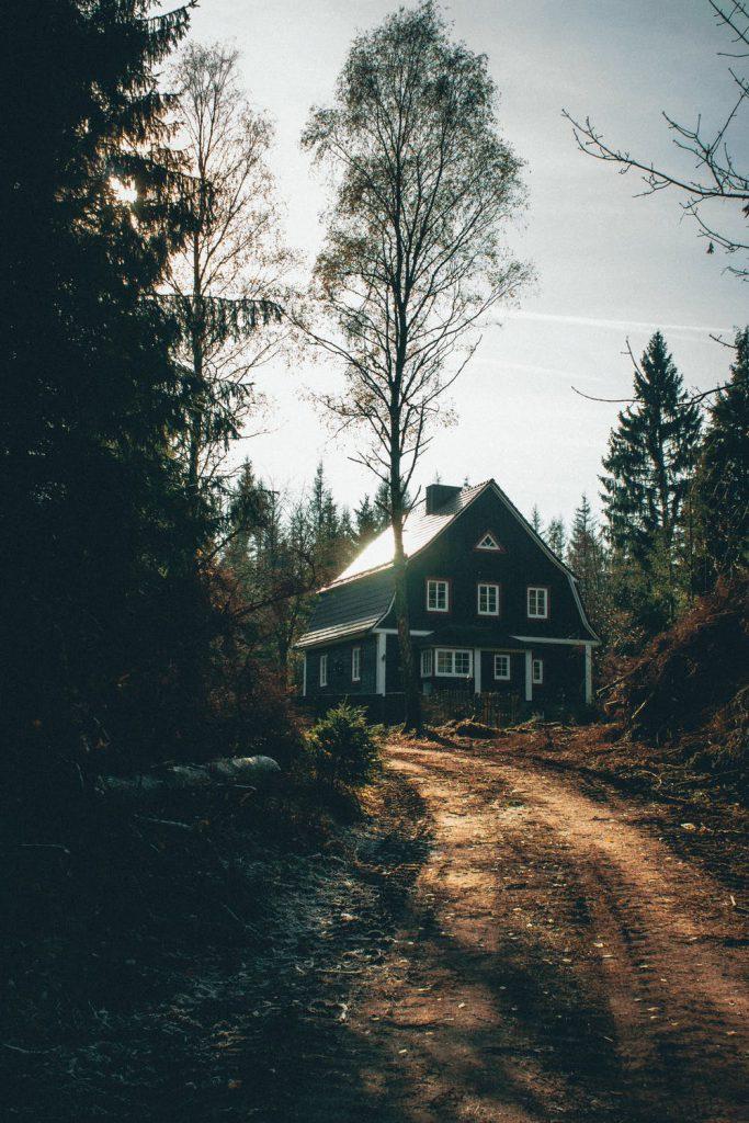 Голяма къща в гората