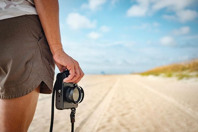 Снимане на плажа