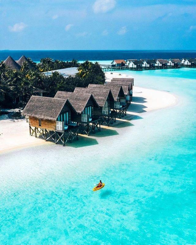 Къщи на красив плаж