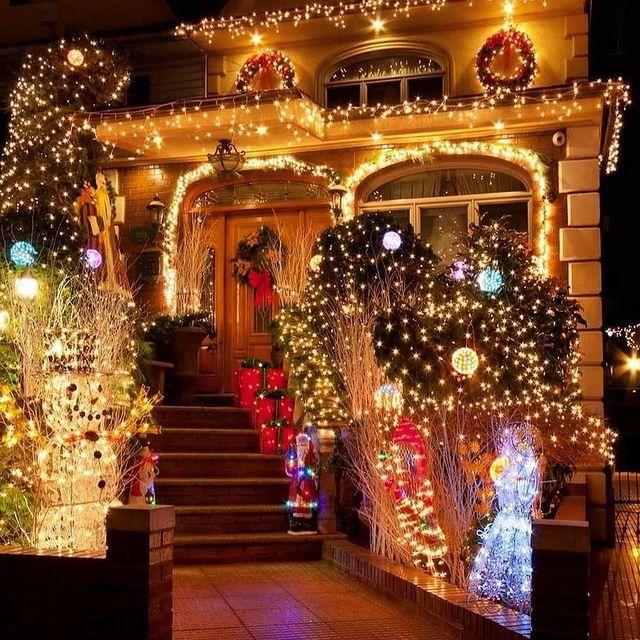 Коледен светещ декор